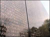 האנדרטה לזכר חללי מלחמת וייטנאם